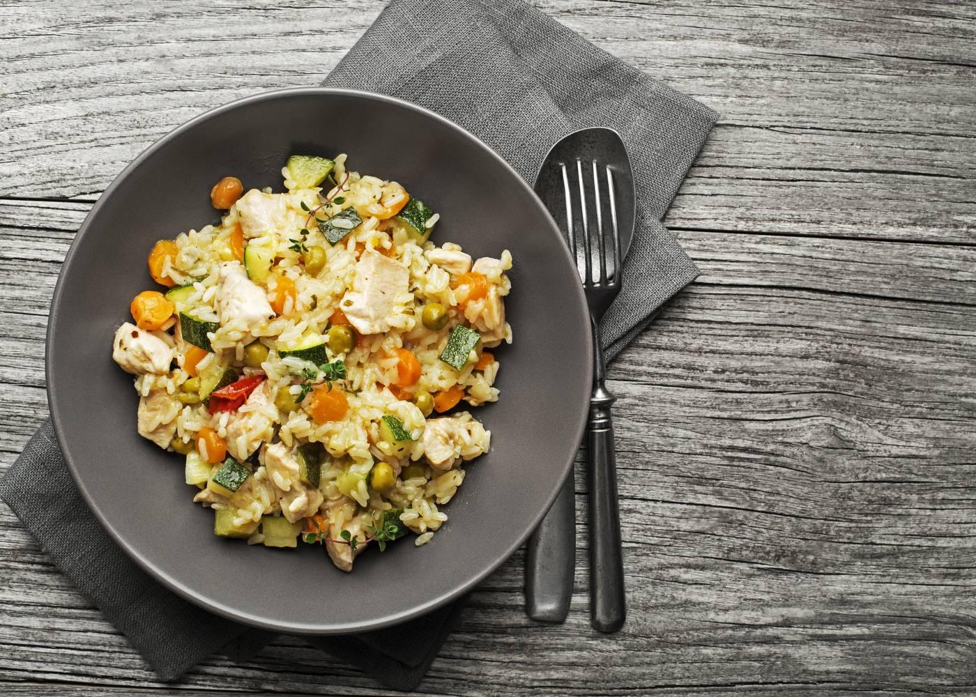 risotto legumes