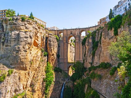 Vista de Ronda na Andaluzia