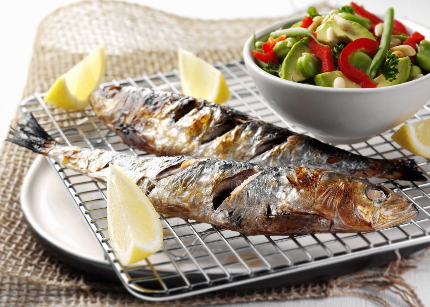 sardinha assada na brasa
