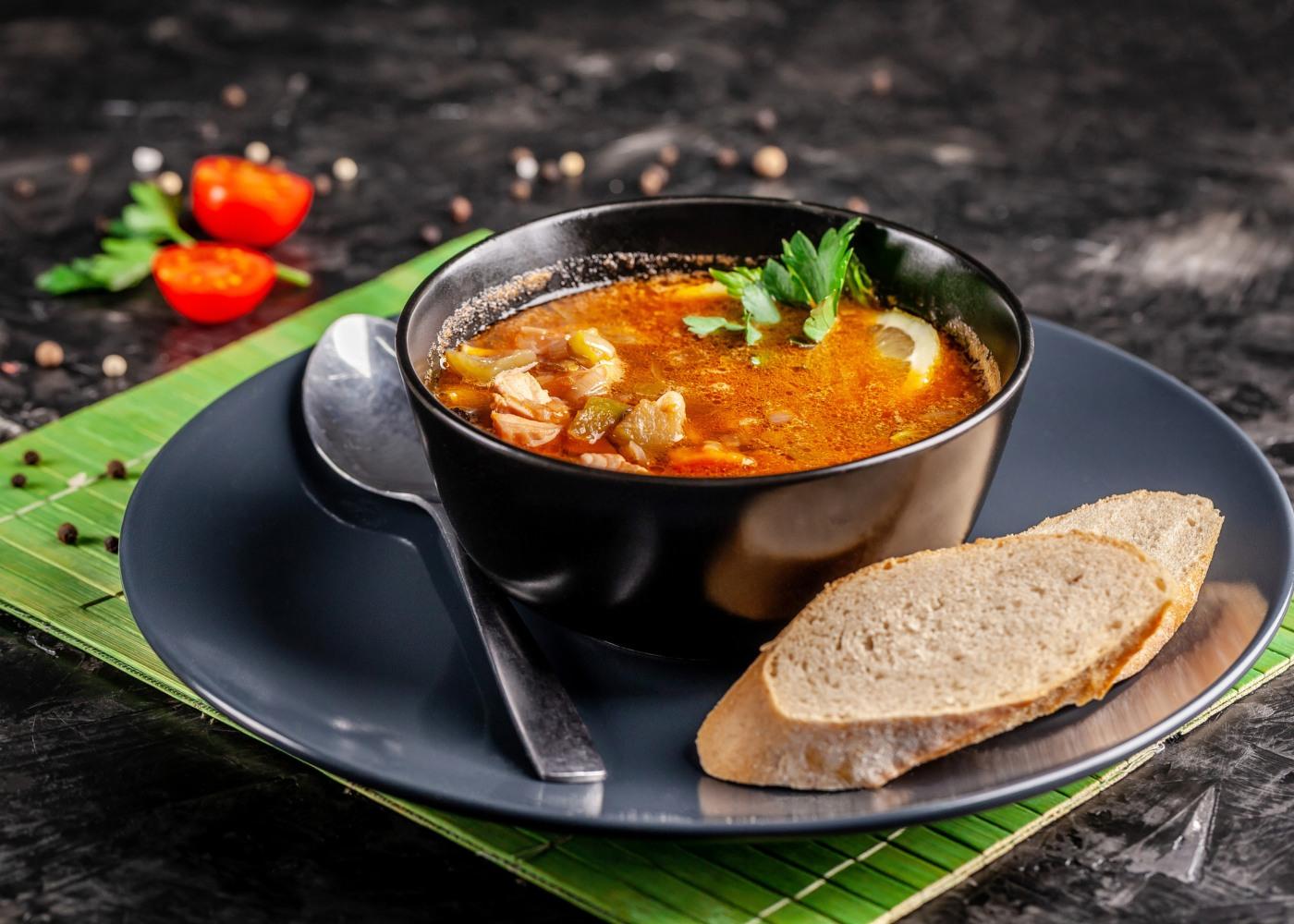sopa de peixe com batata doce