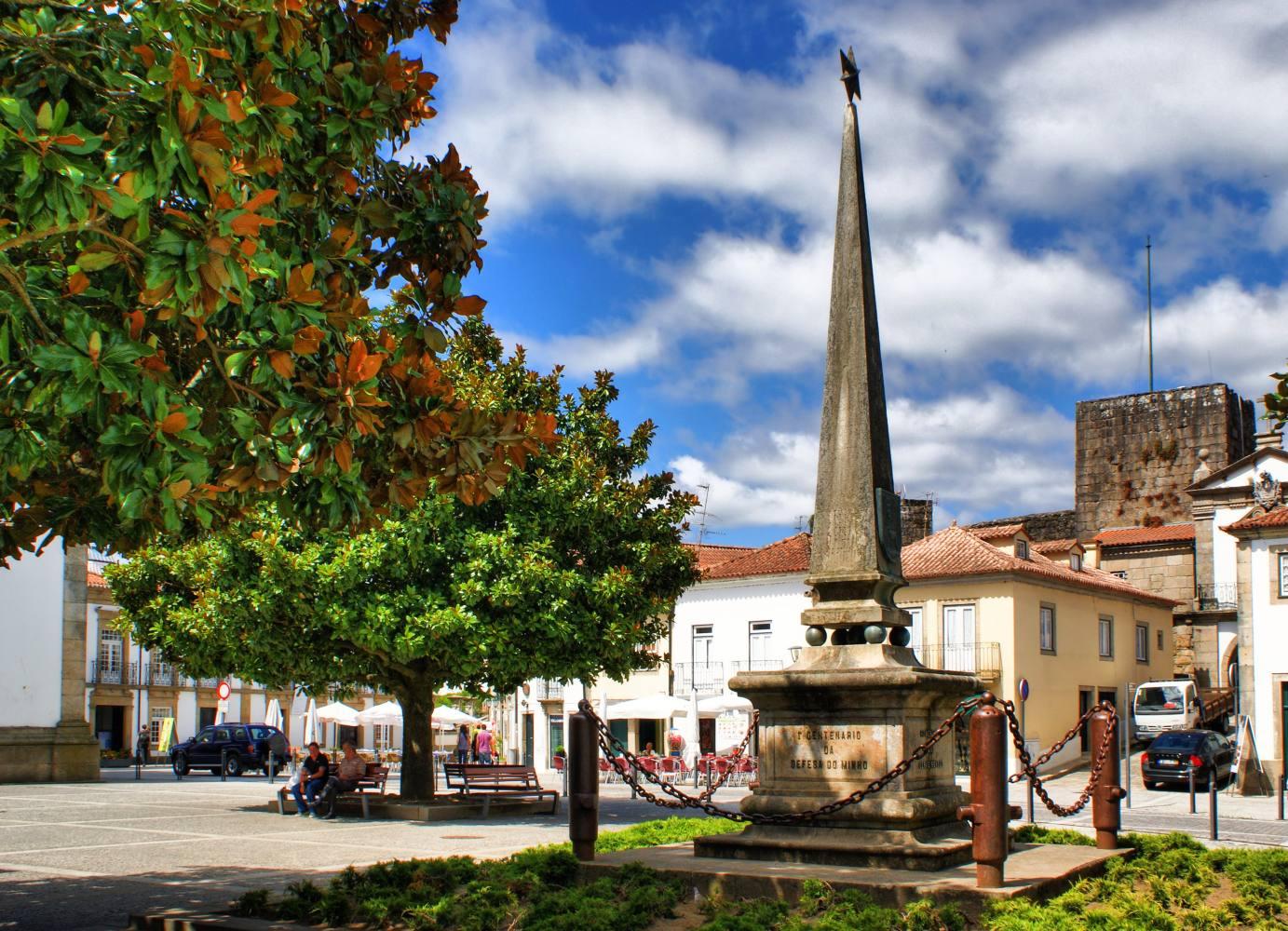 Praça em Vila Nova de Cerveira