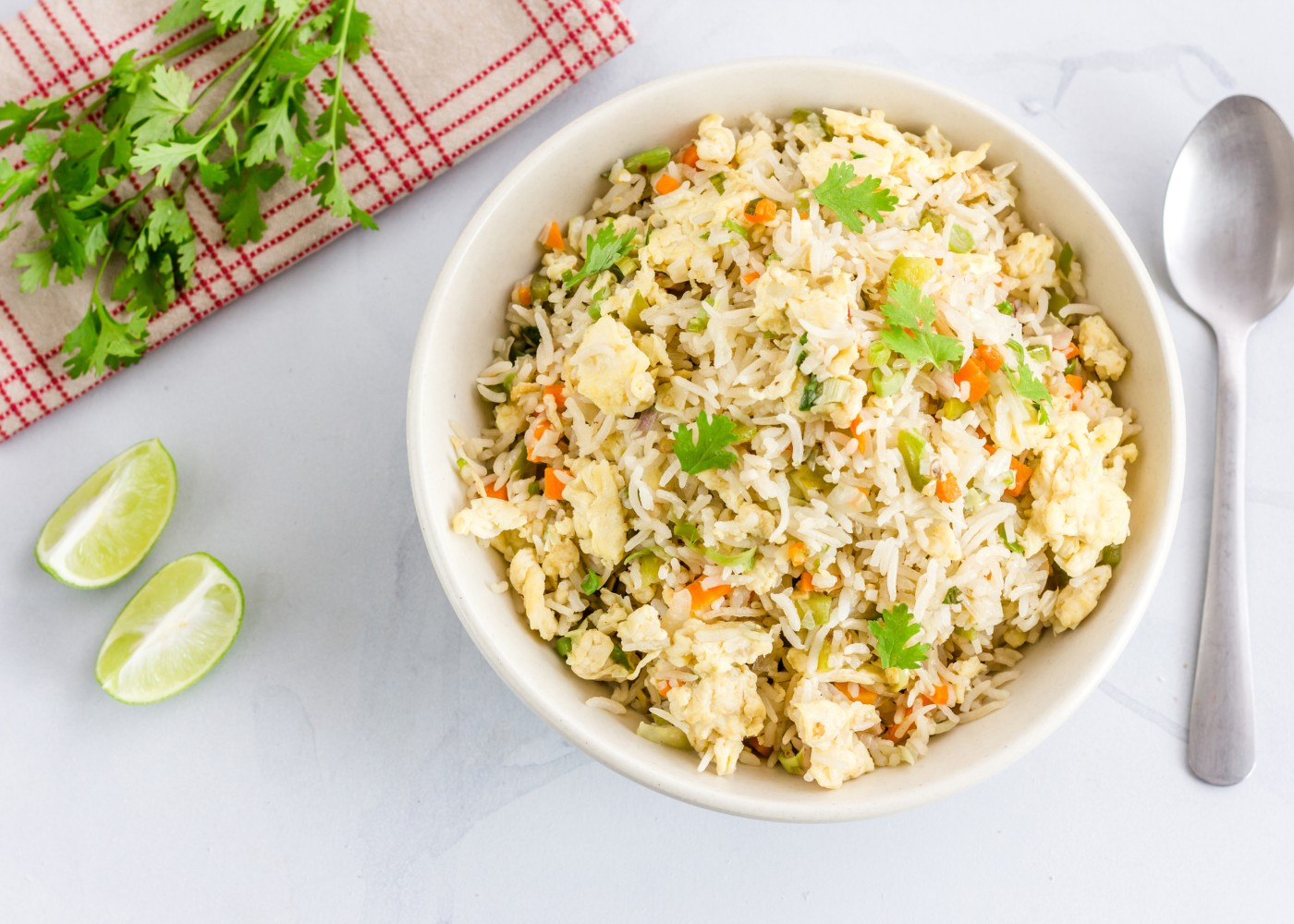 arroz frito aromatizado