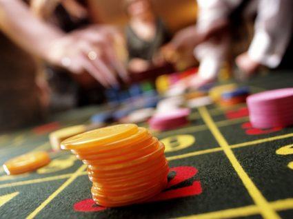 vista sobre mesa de jogo