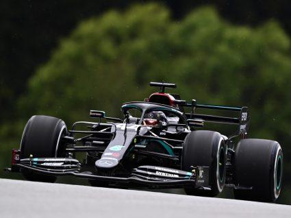 Carro Mercedes de Fórmula 1
