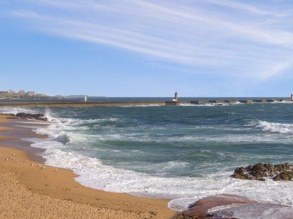 Zona costeira do Porto