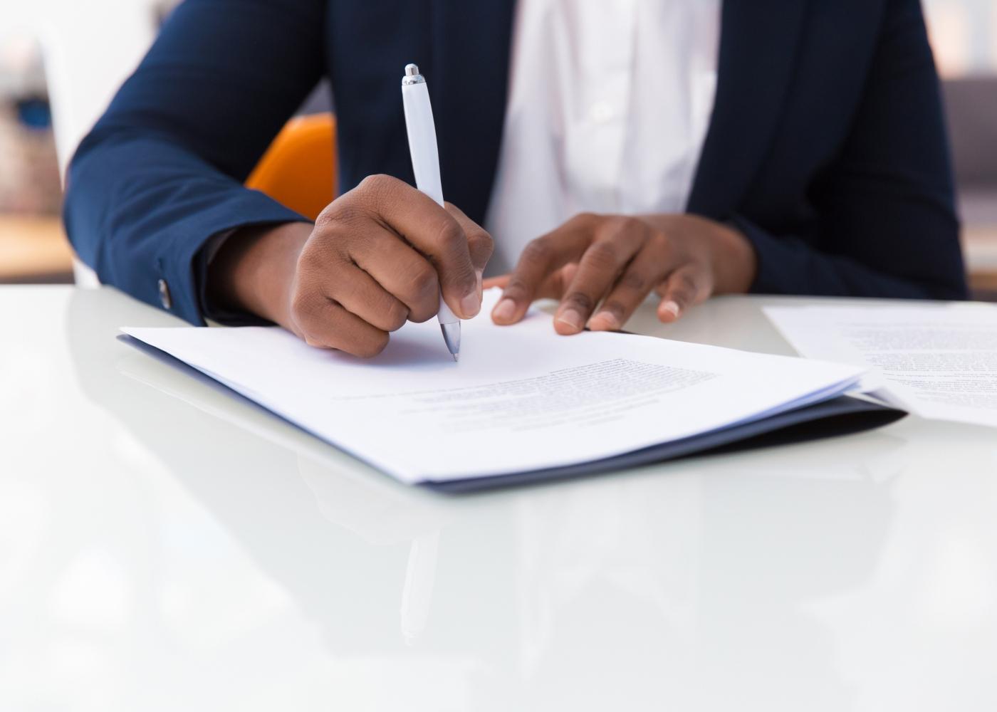 assinar documento