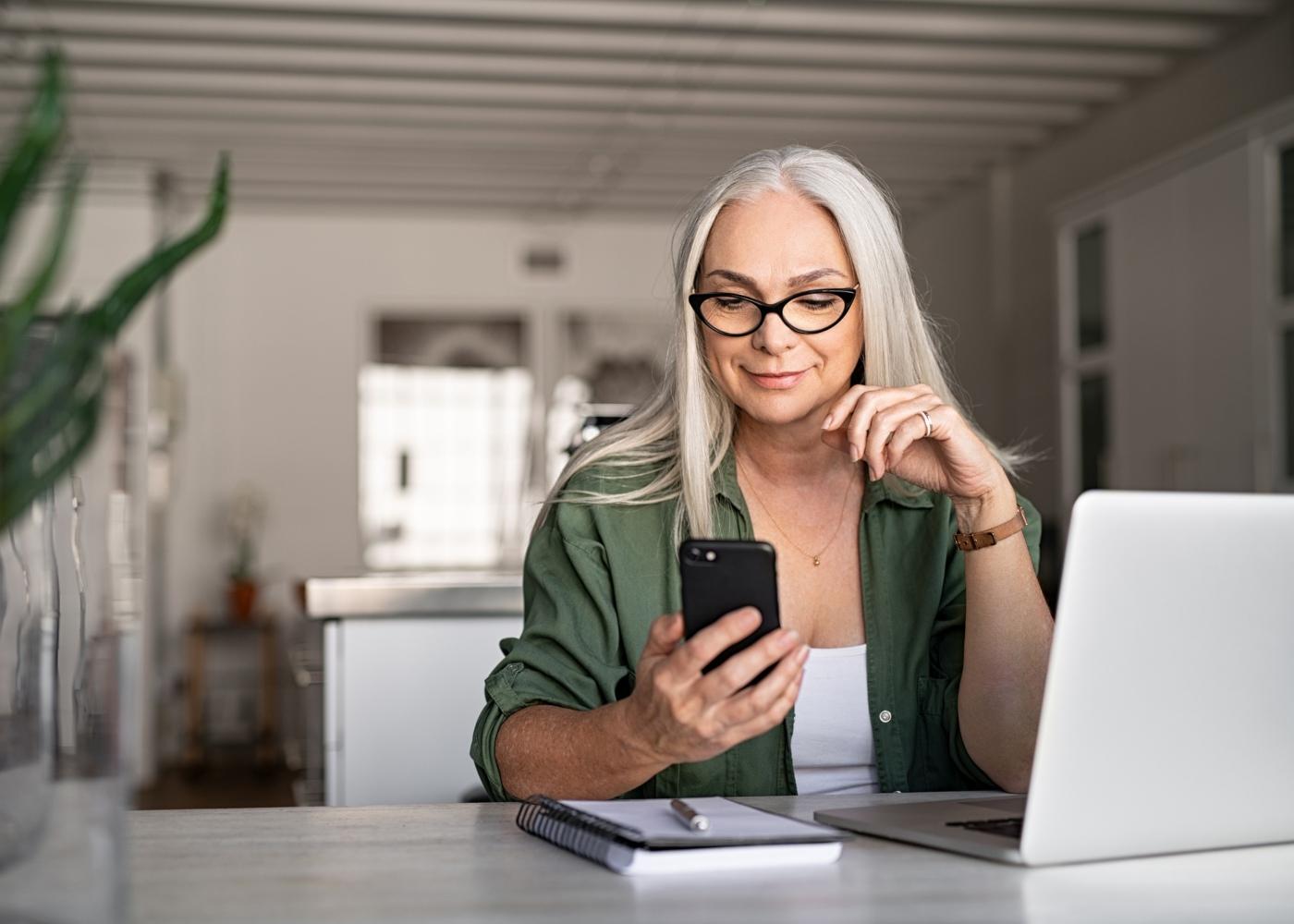 banco online smartphone
