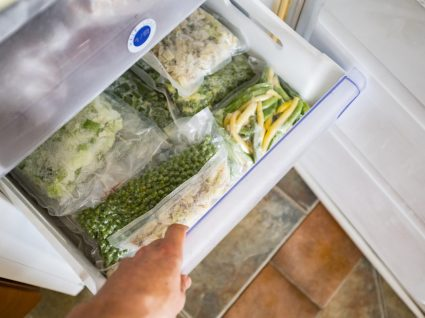 congelar alimentos que já foram descongelados