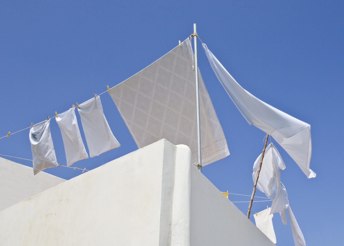 estendal roupa branca