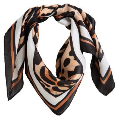 lenço estampado leopardo La Redoute