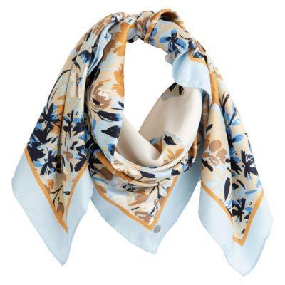 lenço com padrão floral coleção La Redoute