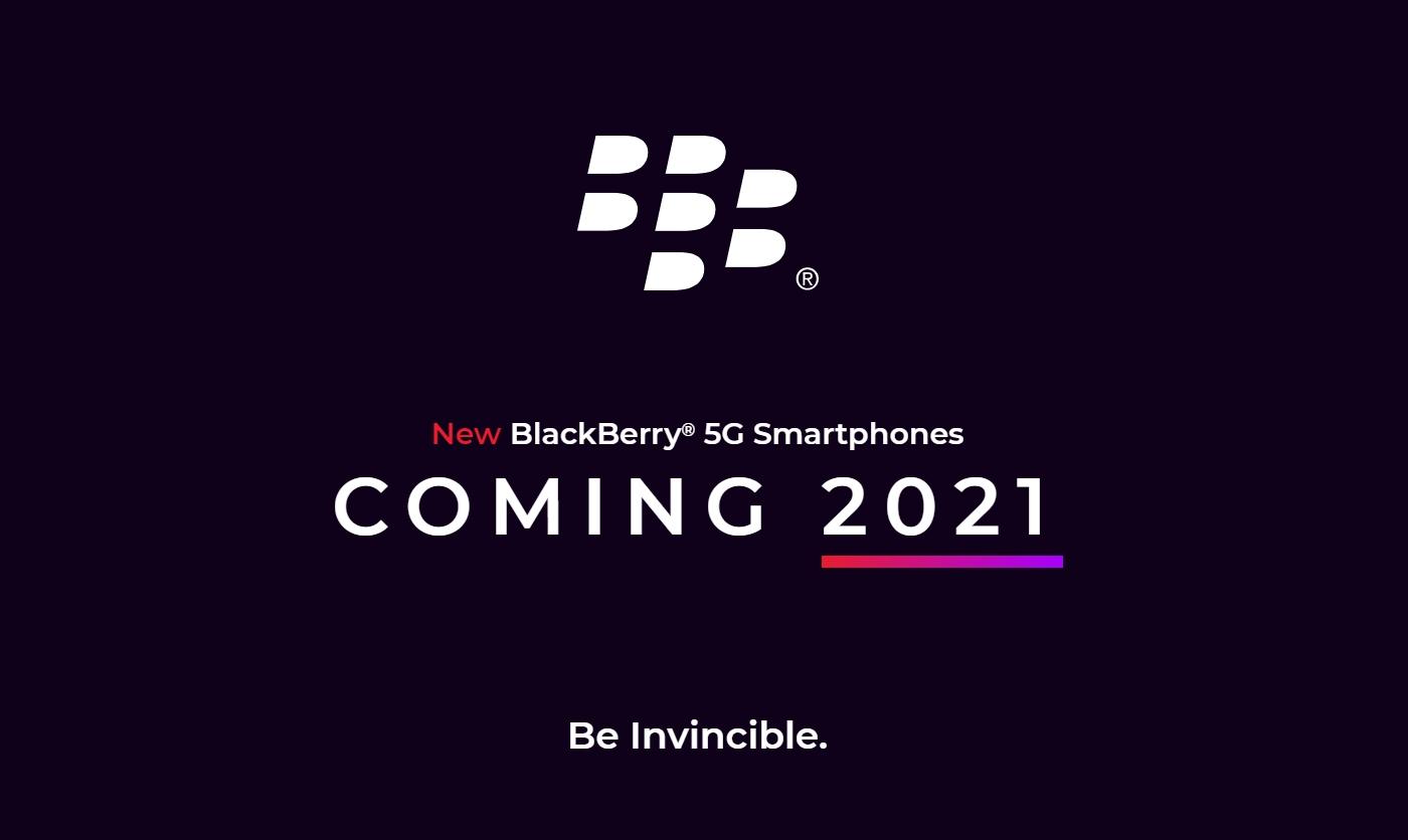 anuncio novo blackberry