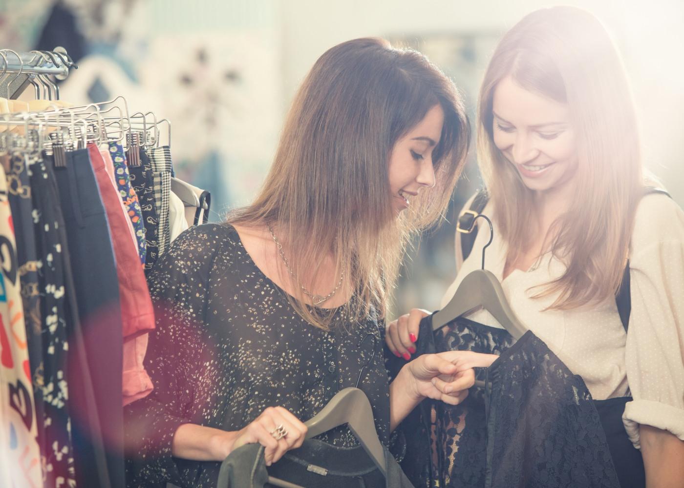 vender roupa em segunda mão