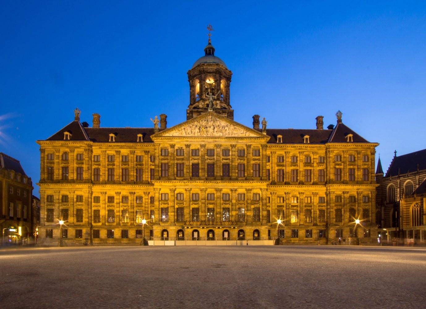 Palácio real de Amesterdão