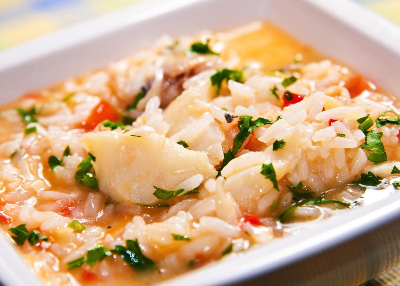 arroz de bacalhau malandrinho