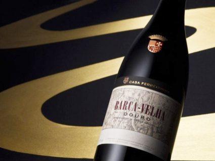 Garrafa de vinho Barca Velha