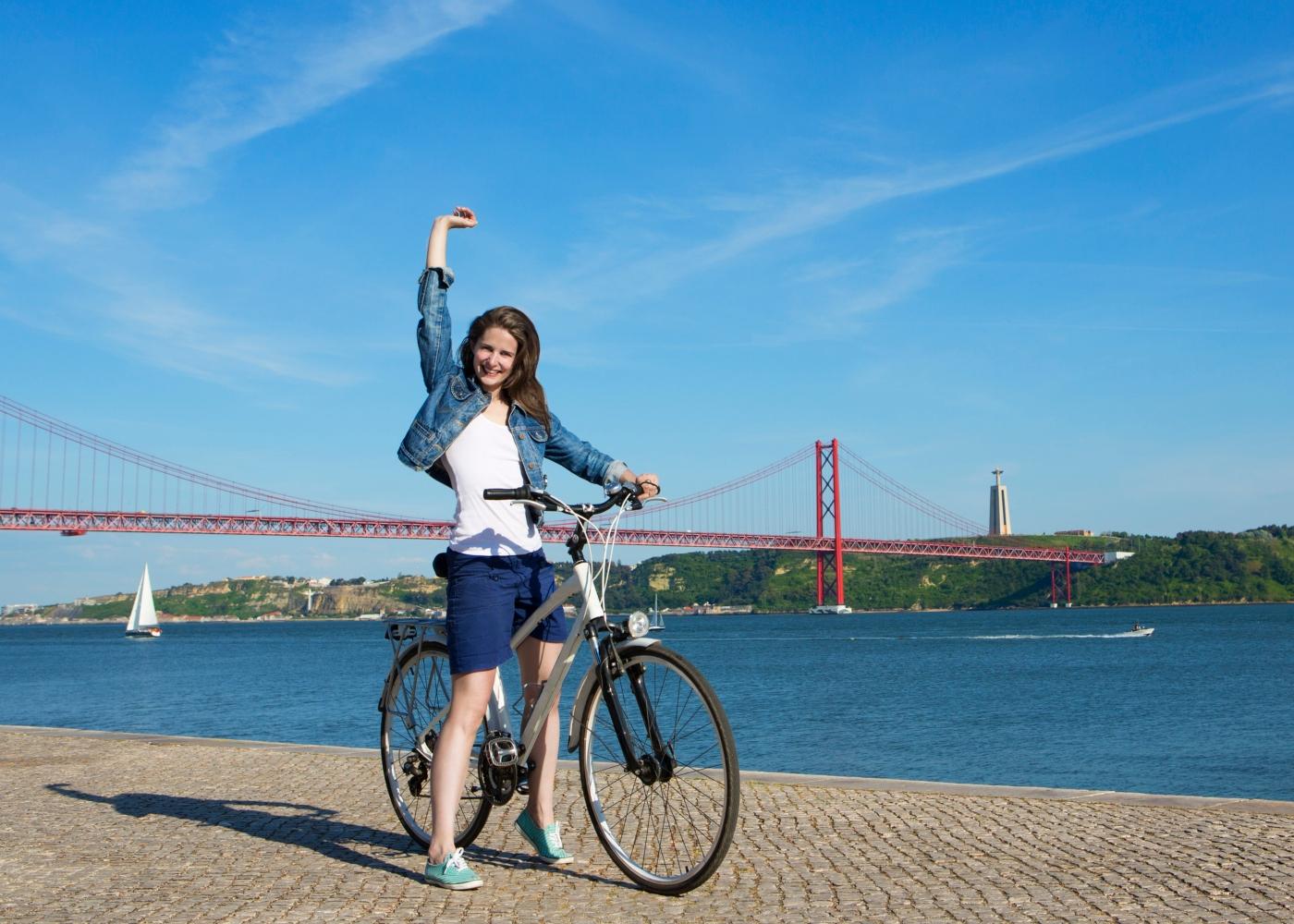 Bicicleta em Lisboa