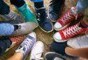 Exemplos de calçado para adolescentes