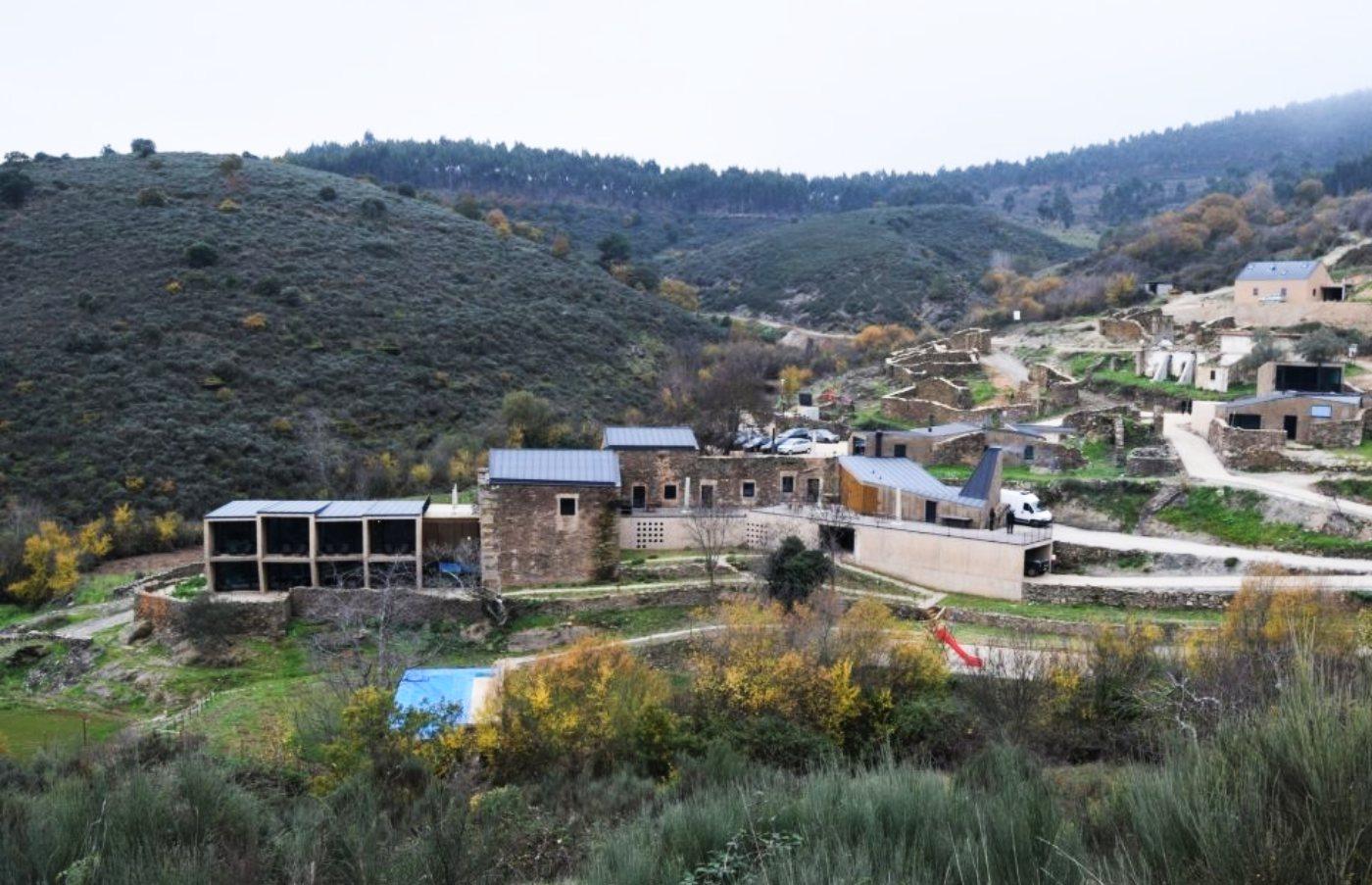 Panorâmica da aldeia do Colmeal