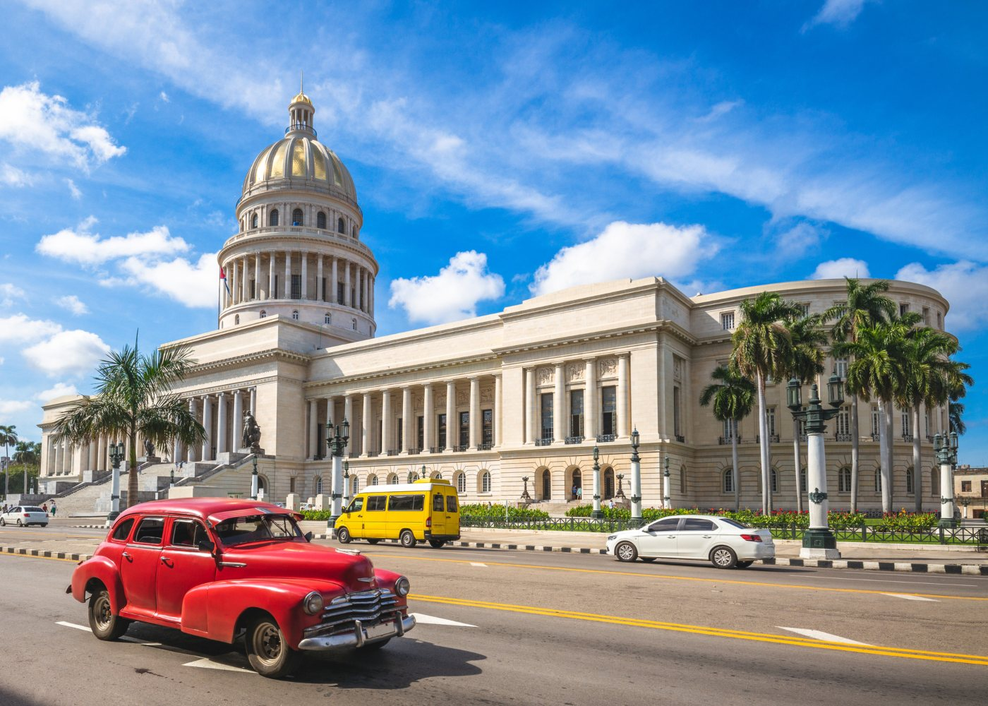 Edifício do Capitólio em Havana
