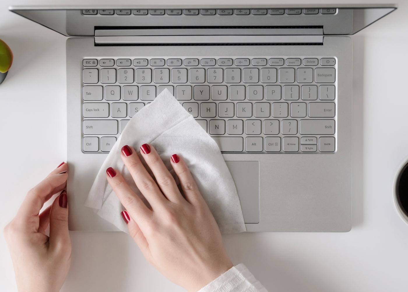 limpar teclado do computador