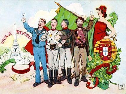 Cartaz da implantação da República