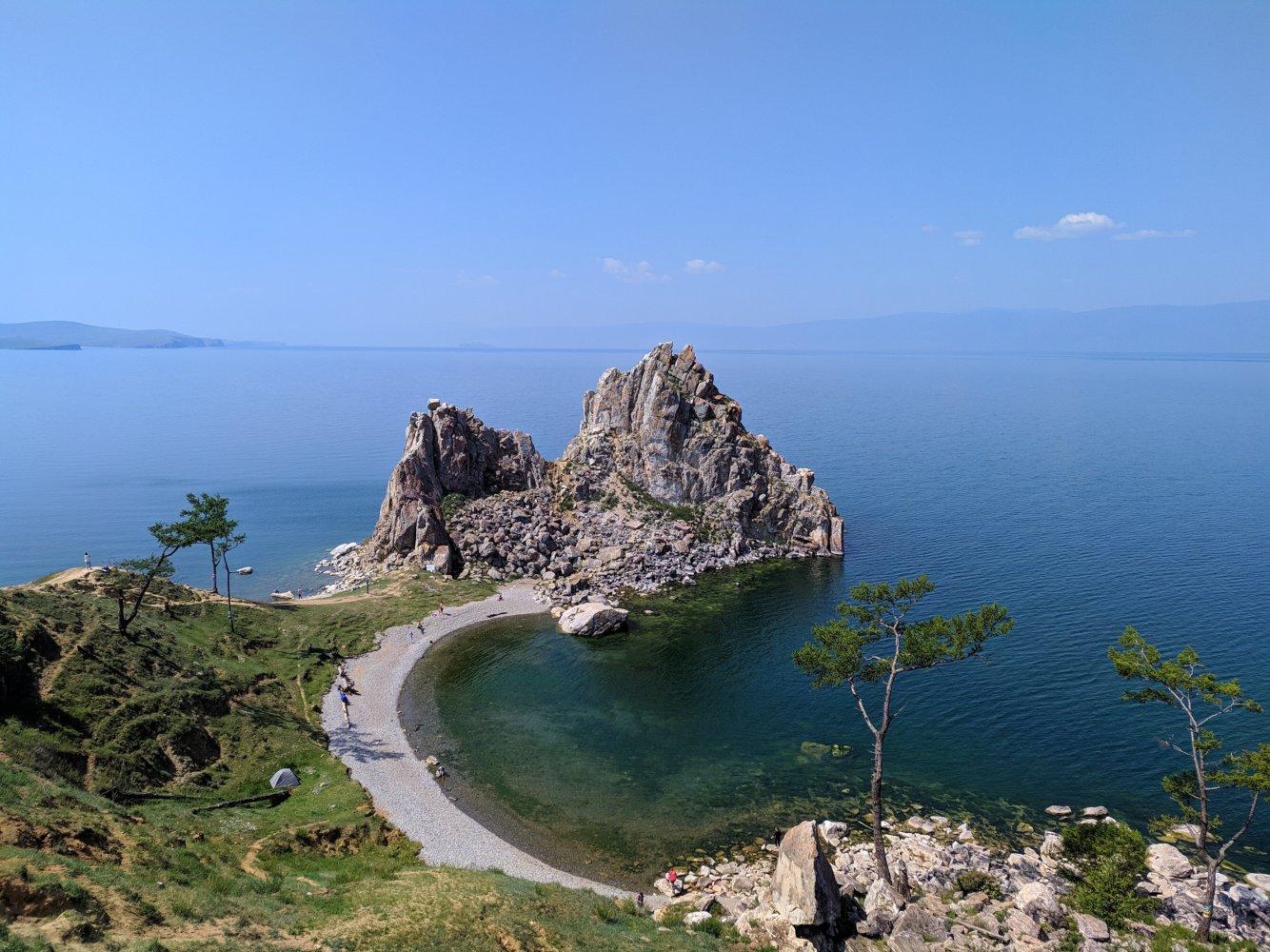 Vista do Lago de Balka