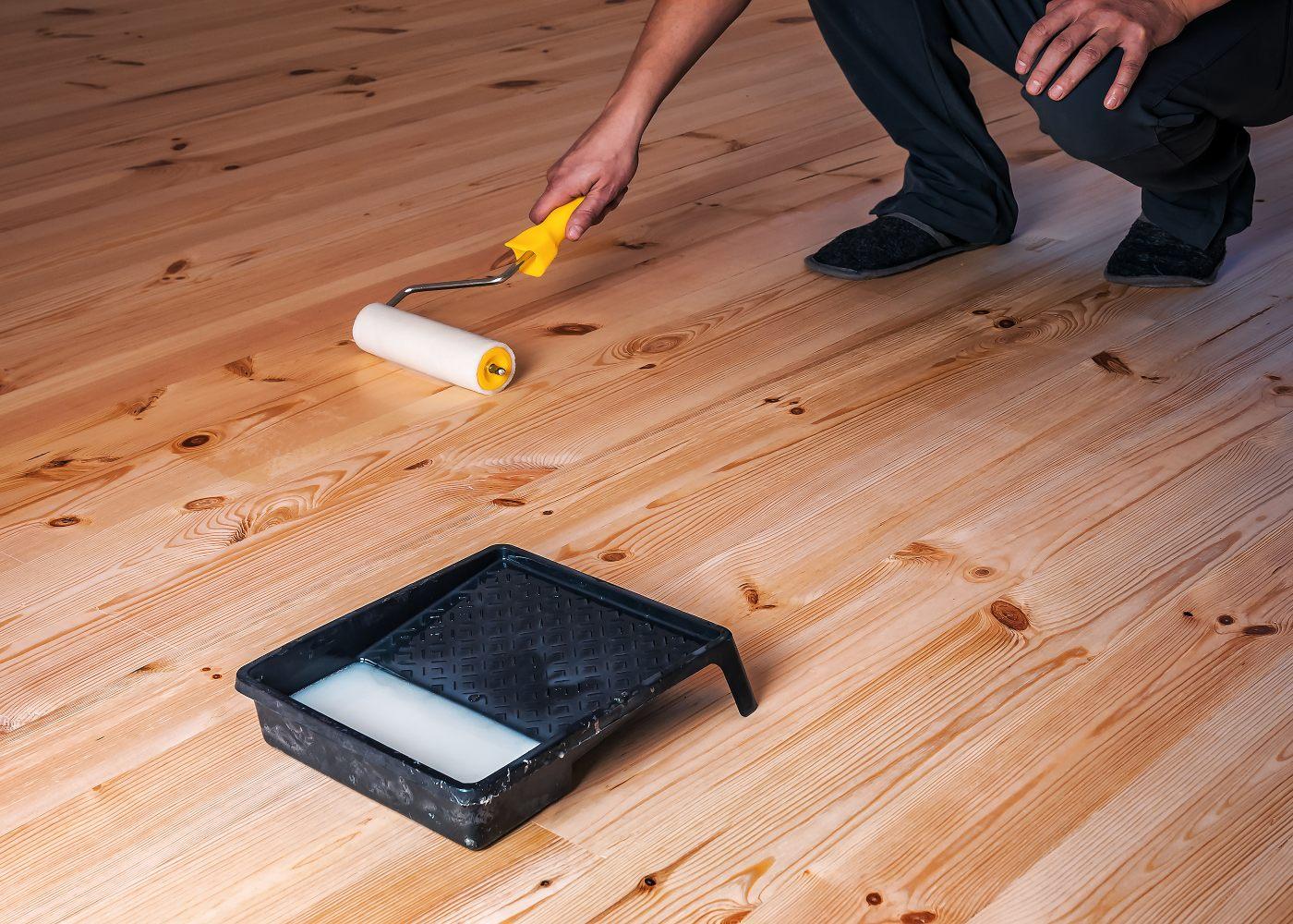 tratar chão de madeira