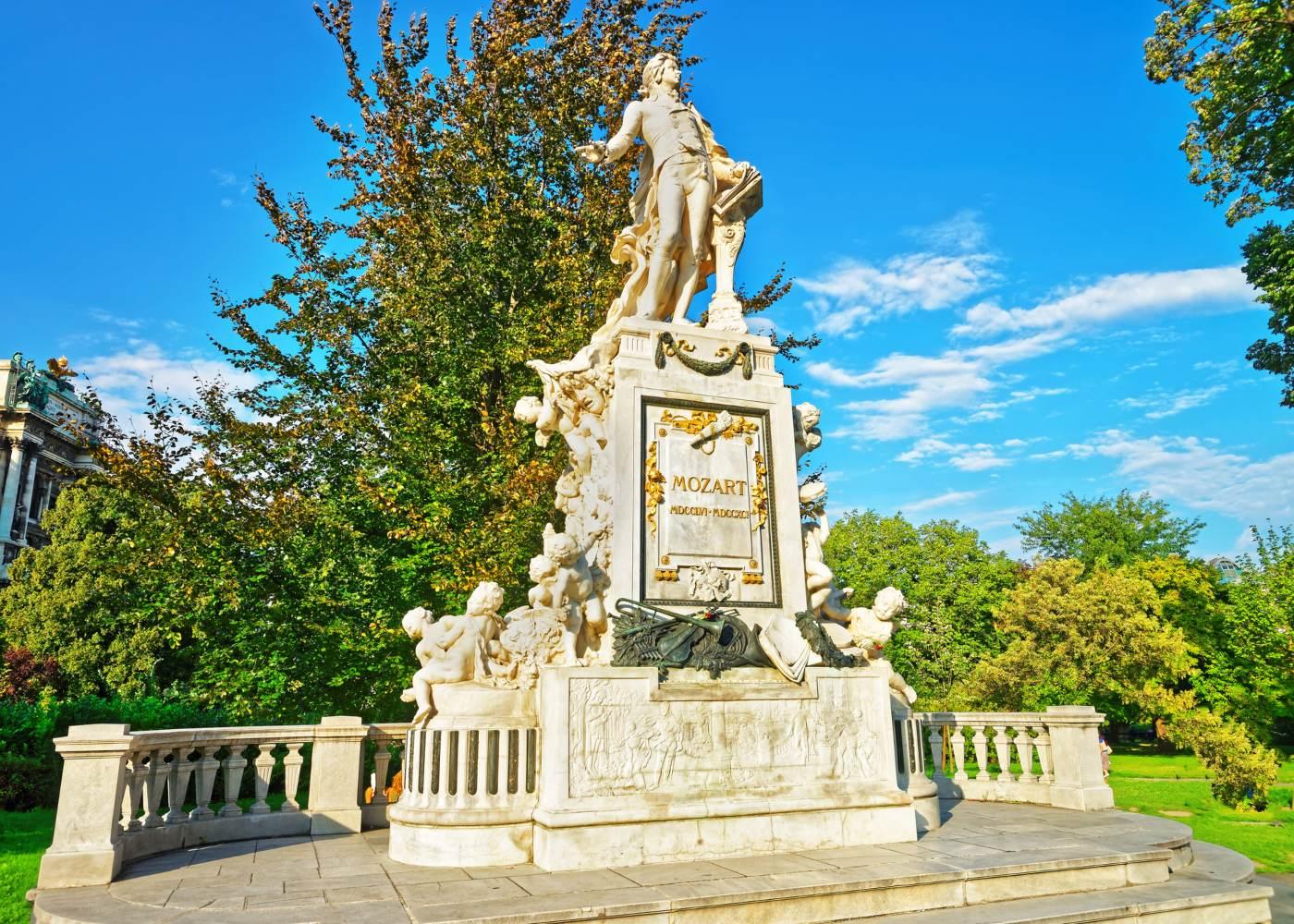 Estátua de Mozart em Viena