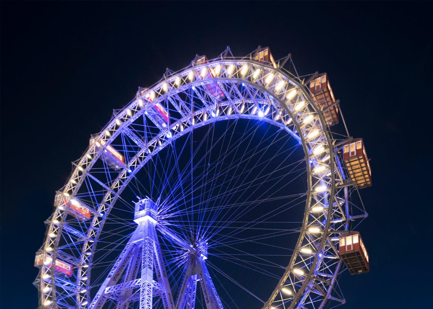 Roda gigante em Viena