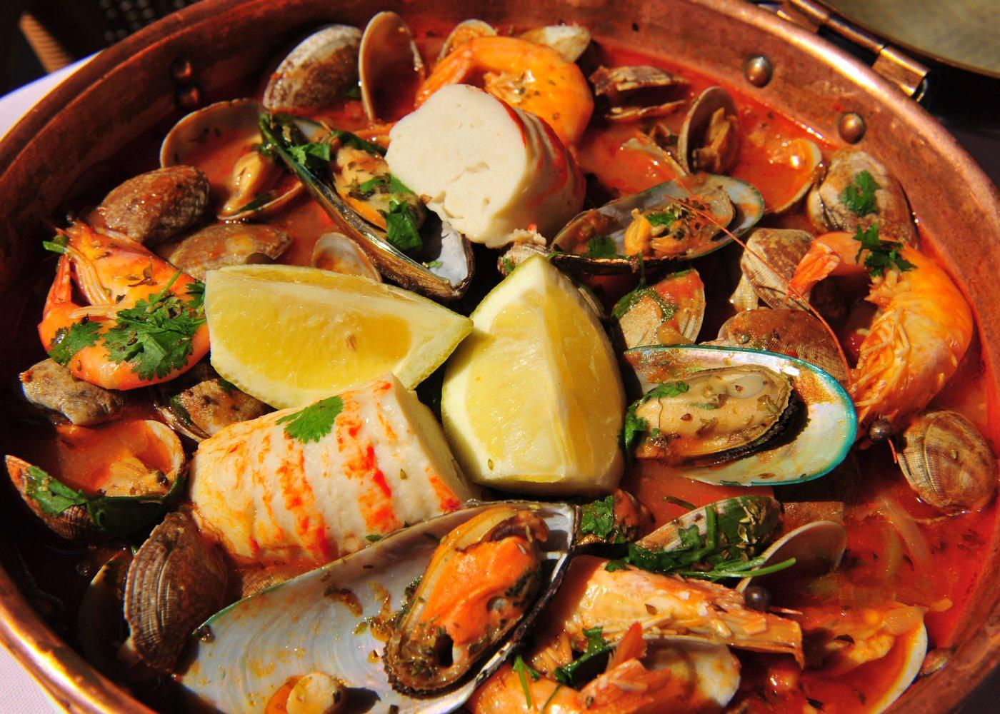 receita de cataplana de peixe