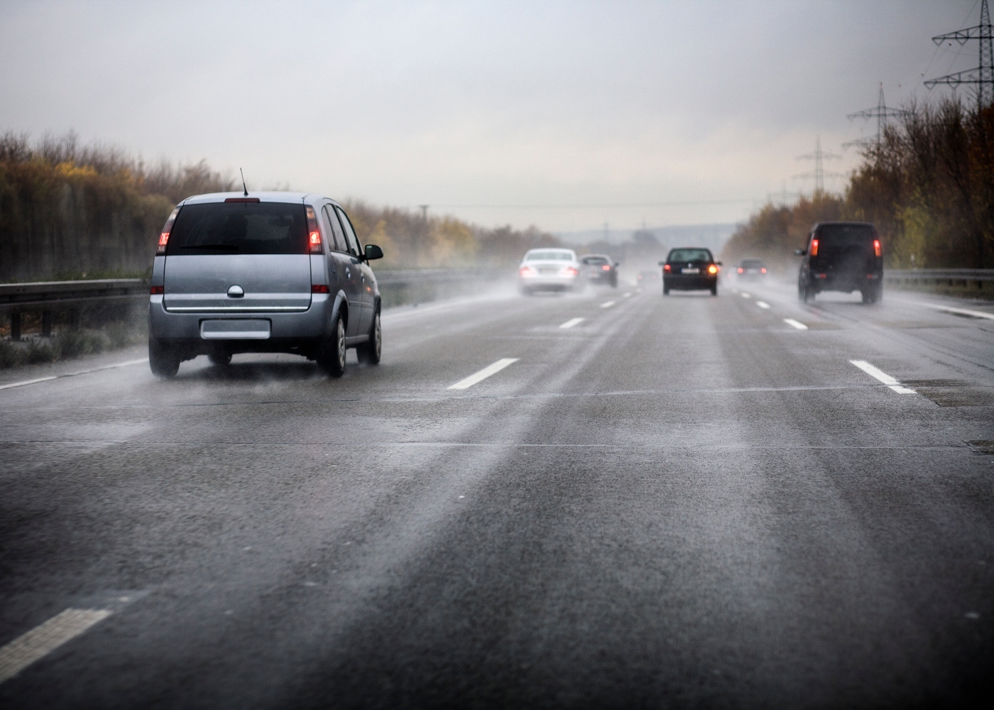 Conduzir com chuva