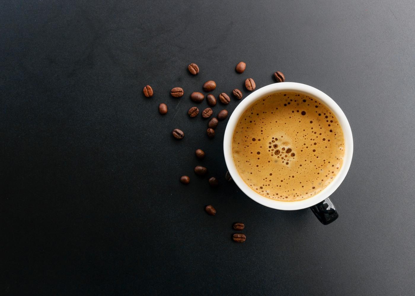 Chávena de café expresso