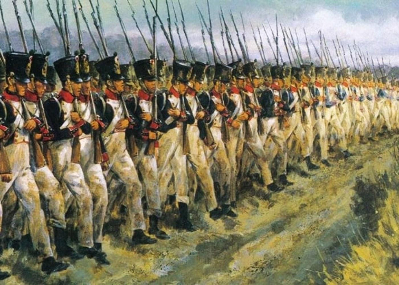 Soldados do exército francês