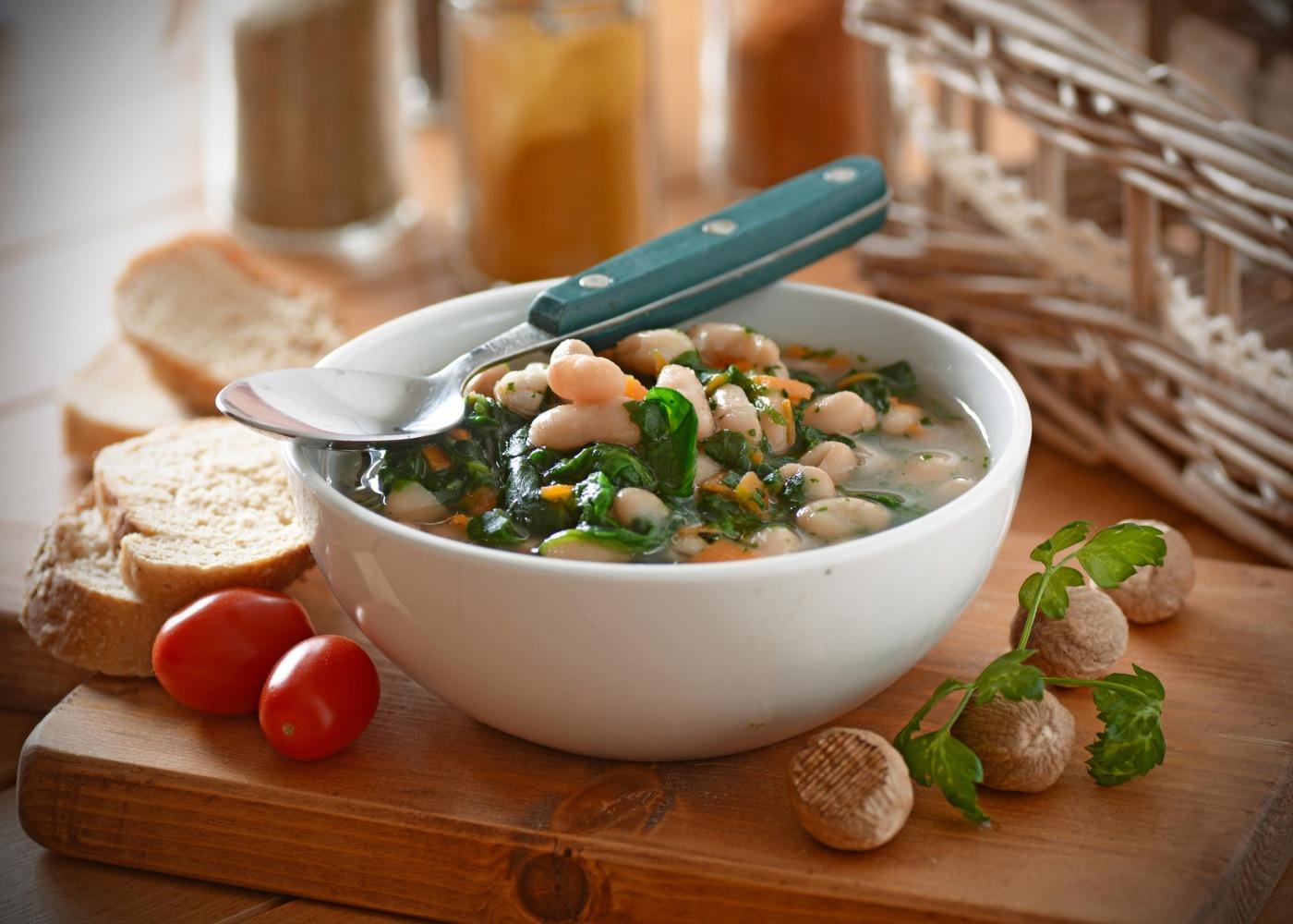 sopa da aldeia tradicional