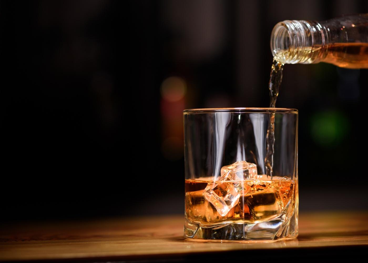 Copo com whisky