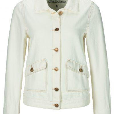 casaco ganga branco c&a