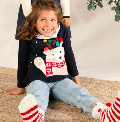 Camisola de Natal para menina