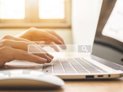 pessoa ao computador a utilizar career explorer tool