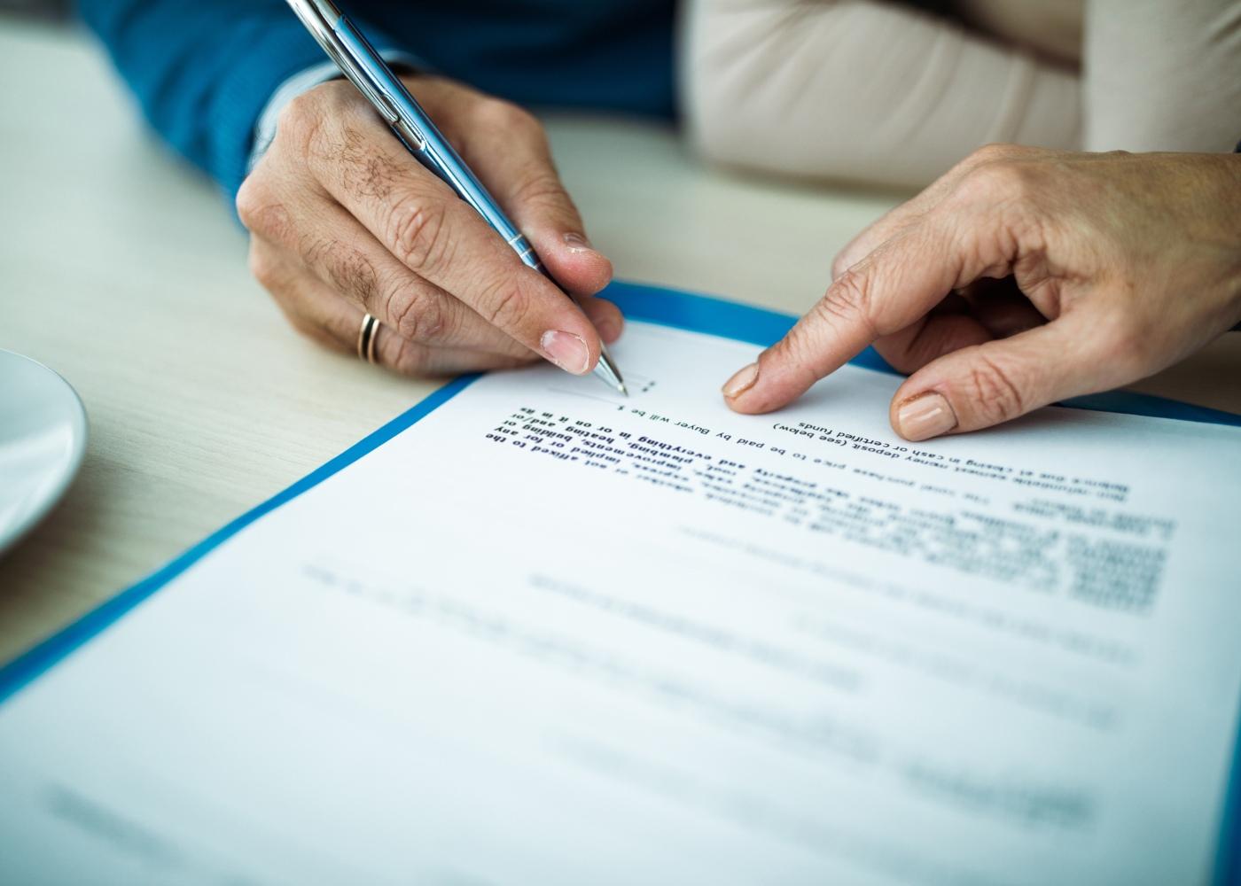 assinar contrato seguro