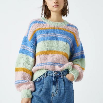 camisola colorida