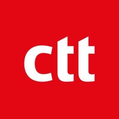 Logo dos CTT