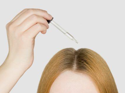 colocar âmpola no couro cabeludo