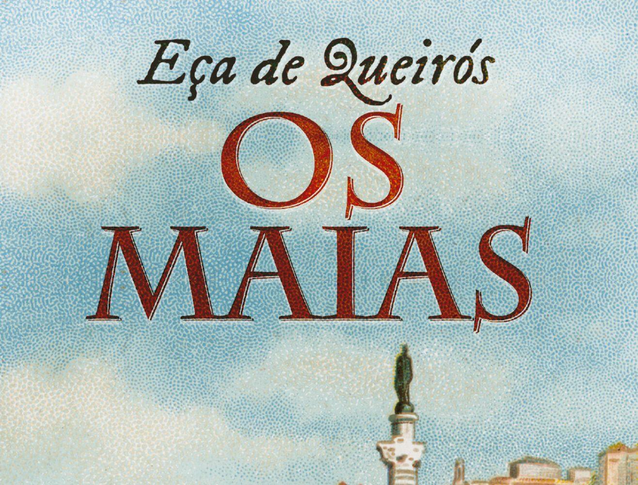 Capa do livro Os Maias