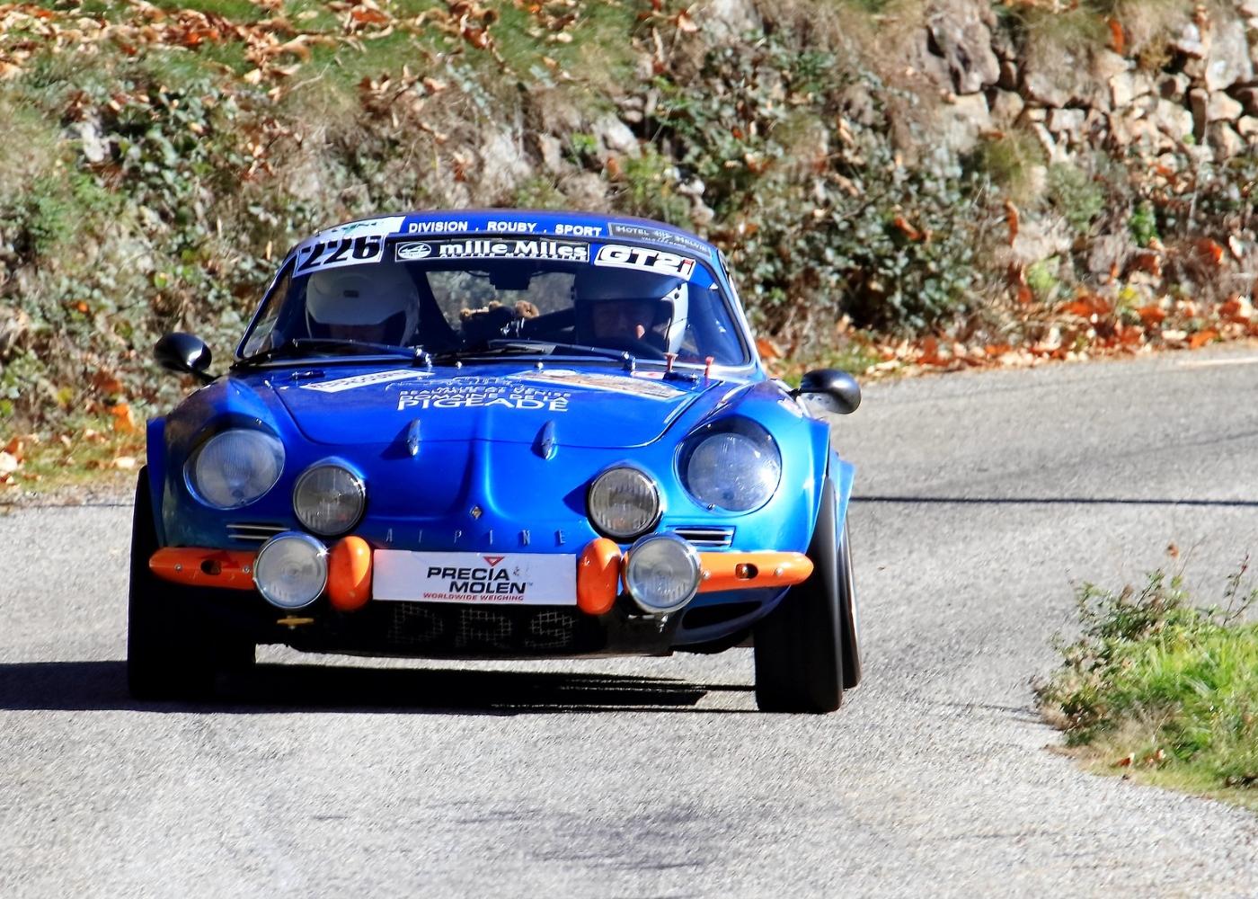 Alpine A110, um dos melhores carros de rally de sempre