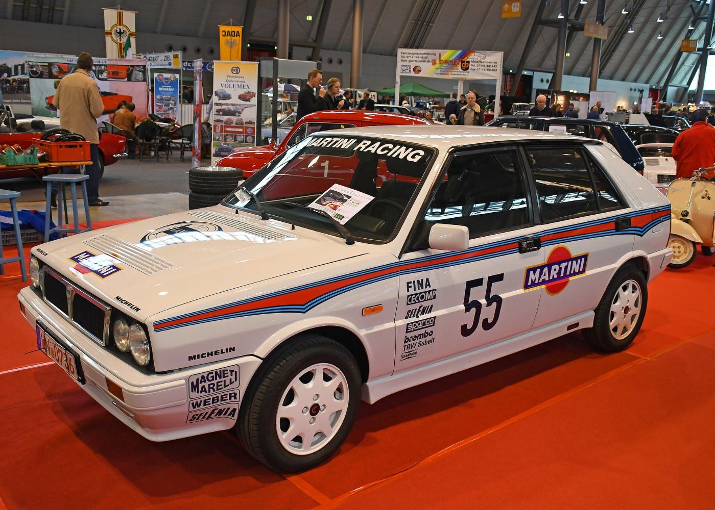 Lancia Delta, um dos melhores carros de rally de sempre