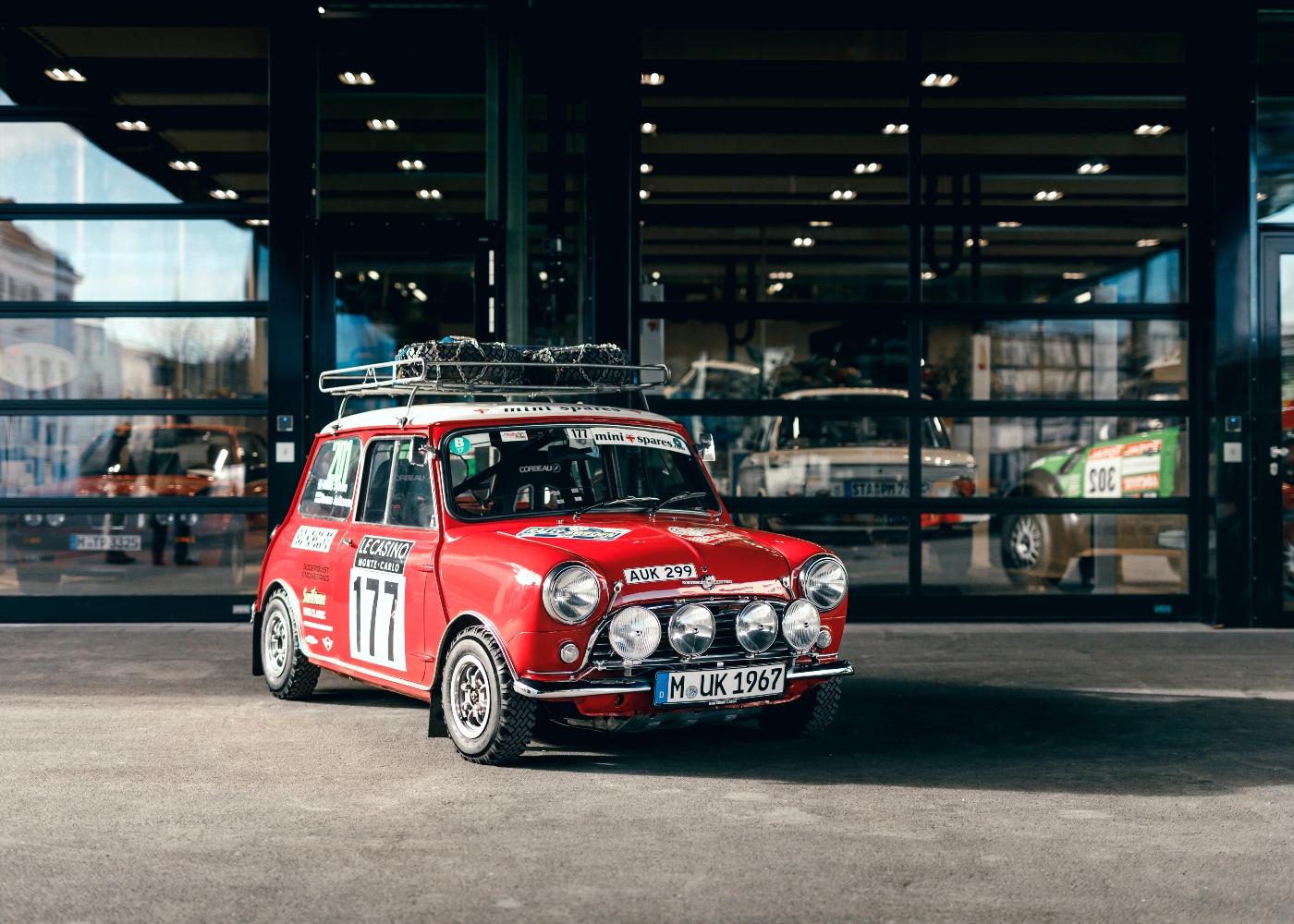 Morris Mini Cooper, um dos melhores carros de rally de sempre