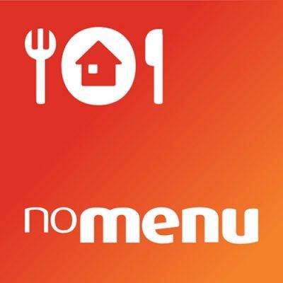 Logo da app noMENU