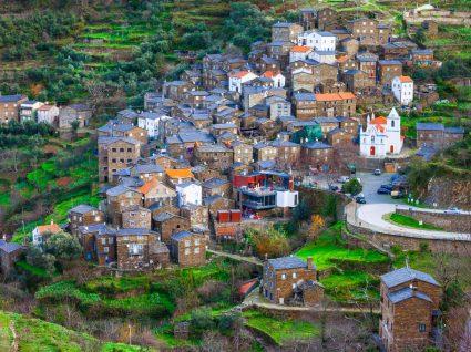 Vista da aldeia de Piódão