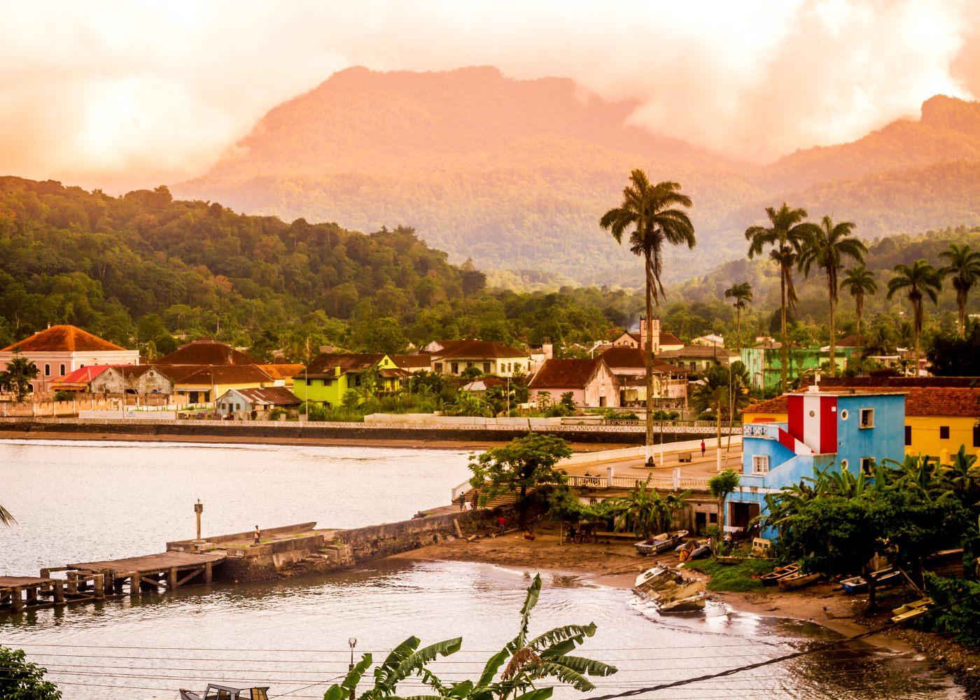 Cidade em São Tomé e Príncipe